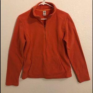 Prana 1/4 zip pullover with pockets